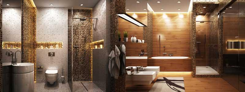 Illuminazione per il bagno come illuminare il bagno e lo specchio - Illuminazione bagno con faretti ...