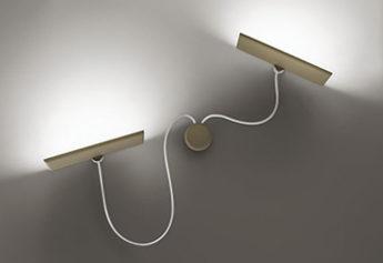 Applique a Led di Icone da Luxart negozio illuminazione Torino