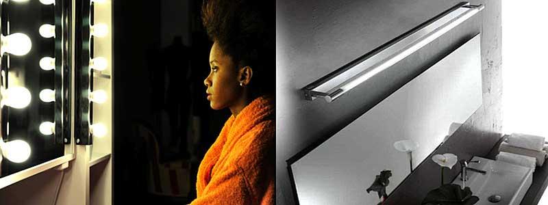 lampade per illuminazione dello specchio