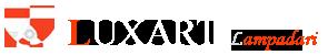 logo con scritta Luxart lampadari Torino