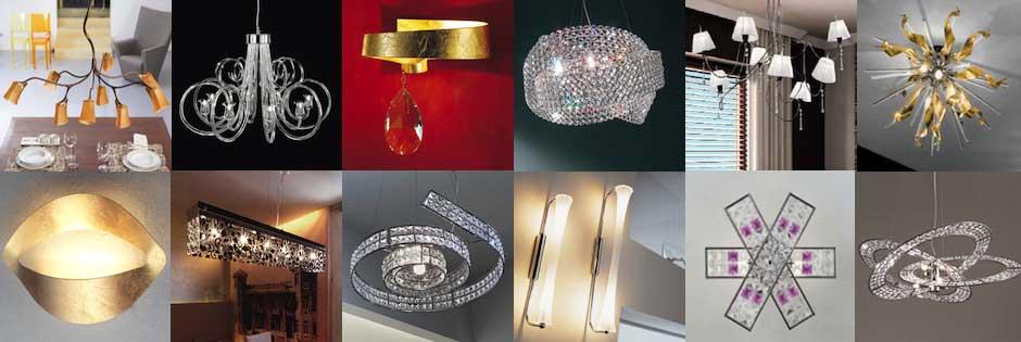 lampadari contemporanei Luxart Torino