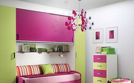 Lampadario colorato per camerette bambini Luxart Torino