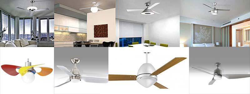 ventilatori a soffitto con luce Torino
