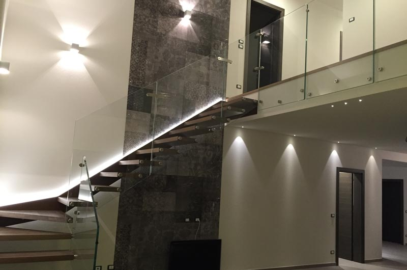 Ambientazioni luxart lampadari torino - Luci per scale ...
