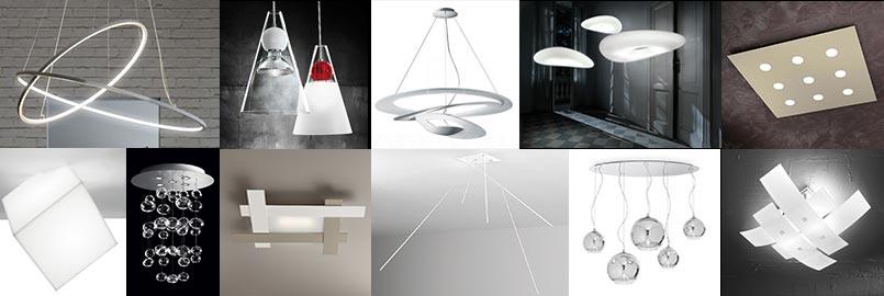 plafoniere e lampadari a led Luxart Torino