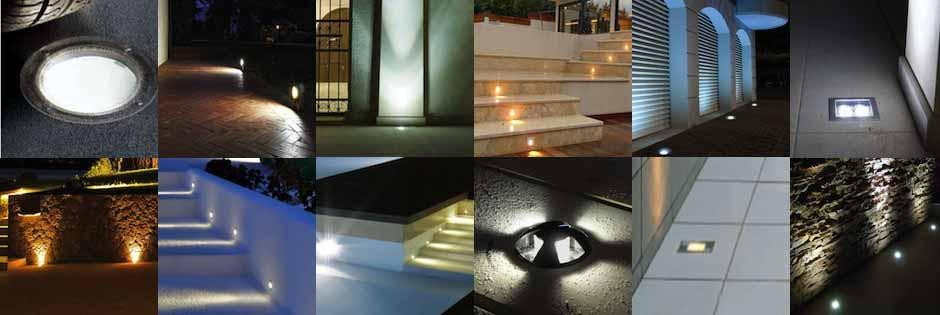 lampade da incasso a led per esterno Luxart Torino