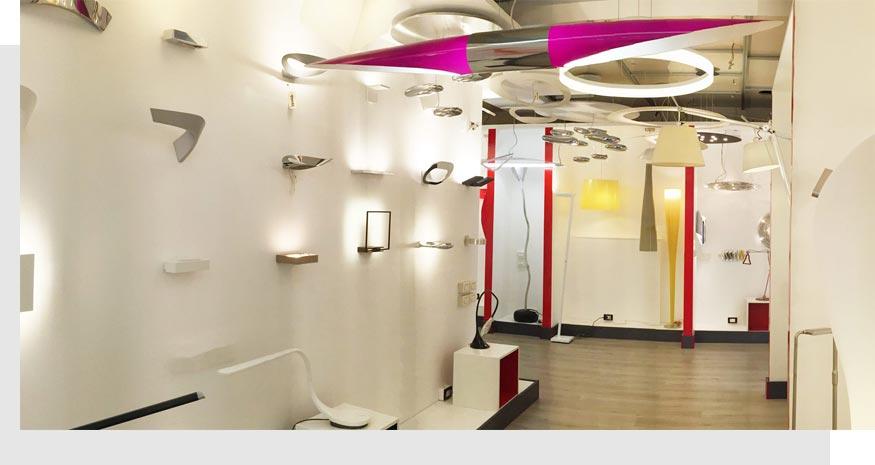 Luxart esposizione lampadari Rivoli Torino