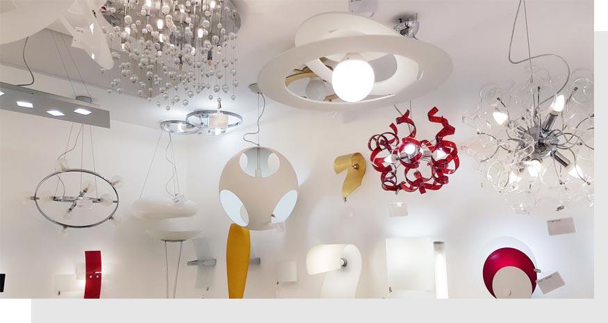 Luxart lampadari Rivoli Torino show-room