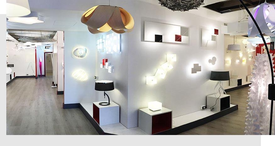 show-room lampadari Rivoli Torino Luxart